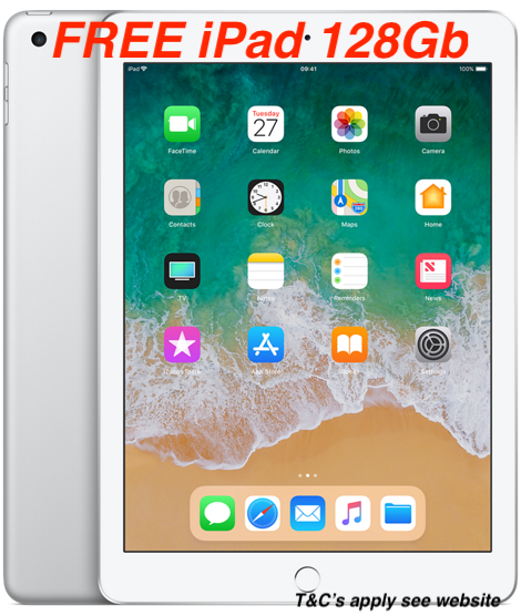 FREE iPad 128 GB