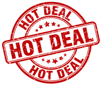 End of the heat wave special offer!! 28th & 29th July only!!