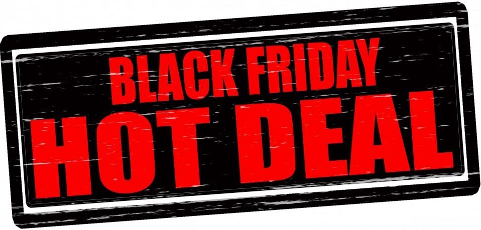 Black Friday Deals – 25th Nov to 1st Dec